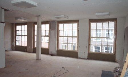 Renovatie woonkamer Amsterdam Jordaan oude toestand